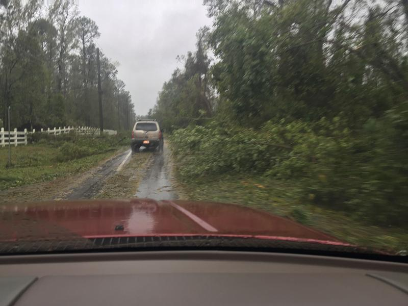 Route 133 in Brunswick County in Leland September 15, 2018