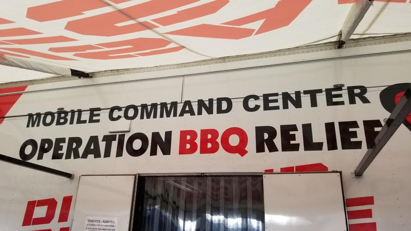 From now until early October, the Operation BBQ Relief disaster response team will be cooking hundreds of thousands of pounds of turkey, chicken, beef brisket and other items to help Wilmington recover.