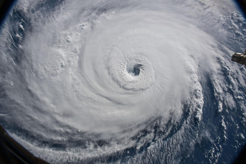 Hurricane Florence on September 12, 2018