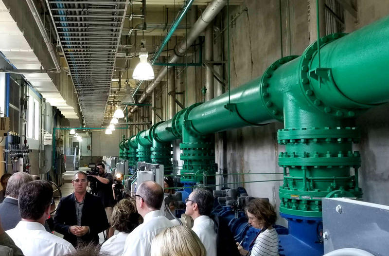 Members of the N.C. General Assembly took a tour of the Cape Fear Public Utility Authority treatment plant in Wilmington in 2017.