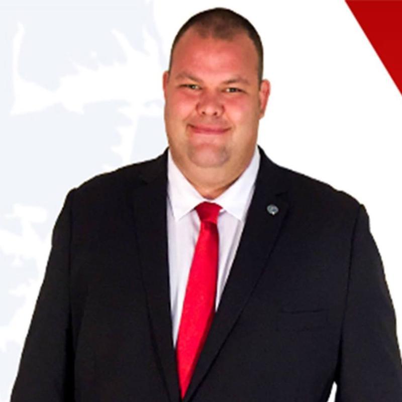 Jerry Benton is seeking a seat on Brunswick County's Board of Education.  He's facing Democrat Joanne Levitan on the November ballot