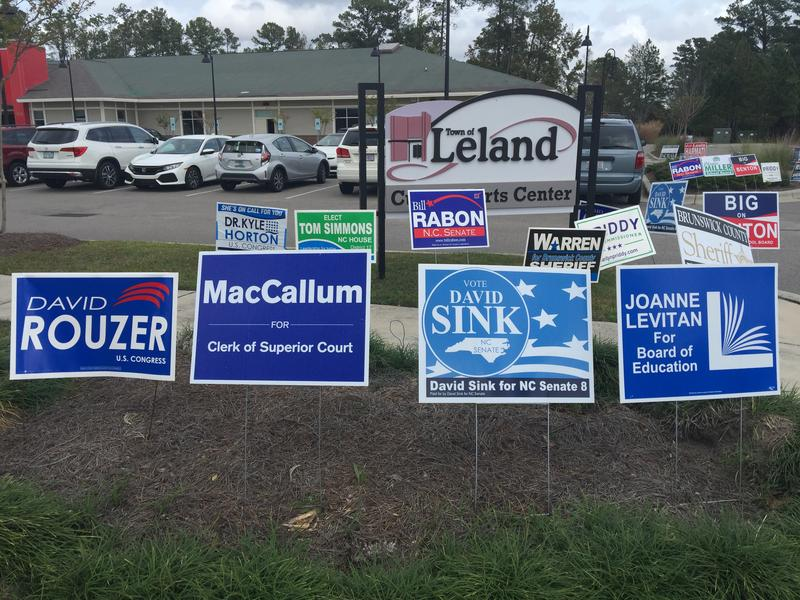 Leland Cultural Arts Center in Brunswick County is serving as polling location for two different precincts.