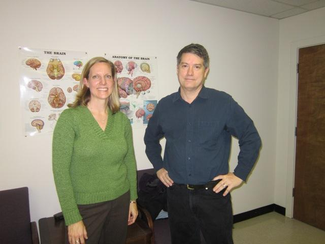 Karen Daniels and Jeff Toth both work for UNCW's psychology department, studying the effects of mental stimulation and aerobic exercise on cognitive function.