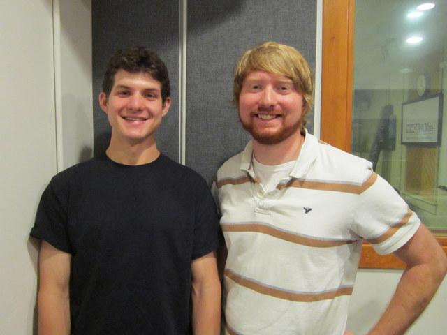 Rylan Morsbach (left), Trey Morehouse (right)
