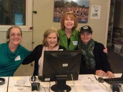 Members of Wilmington Art Association at our Spring 2013 Pledge Drive.