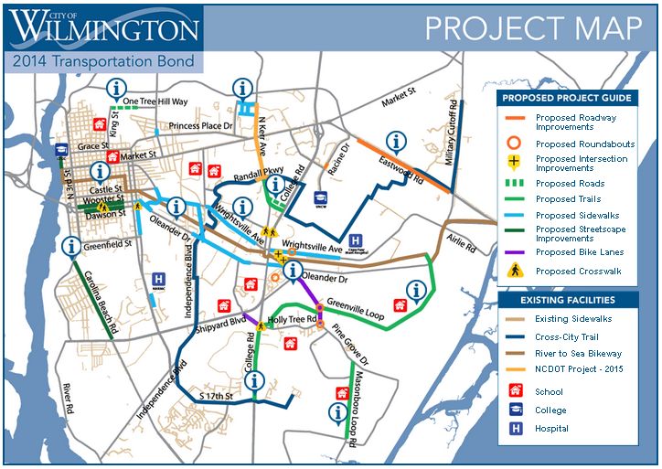 Voters to Decide on Wilmington Transportation Bond this November WHQR