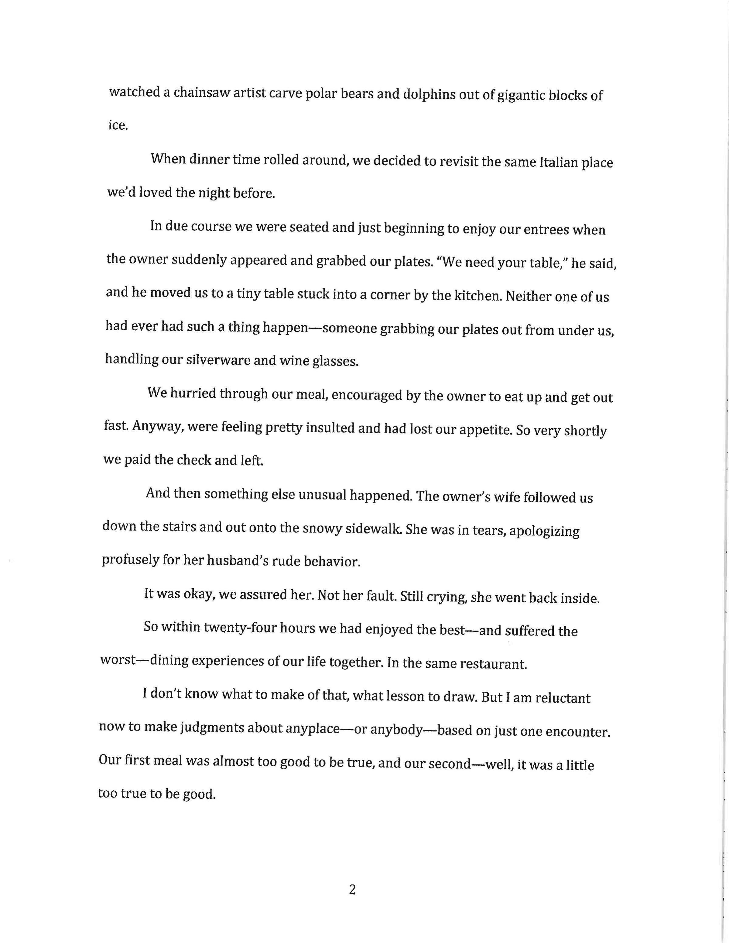 plot twist essays