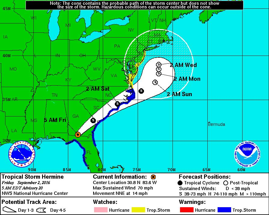Tallahassee without power following Hermine