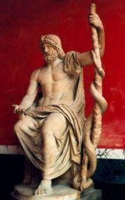 The rod of Aesculapius