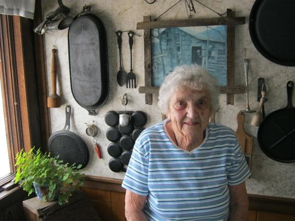 Mildred Lutz, 92, is suing over an oil-and-gas lease that brought her nothing.