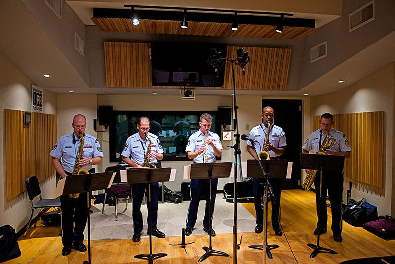 US Airmen of Note perform Live in IPR's Studio A