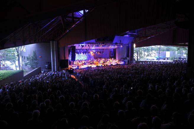 Kresge Auditorium, just named as one of the Ten Best Outdoor Concert Venues in the U.S.A.