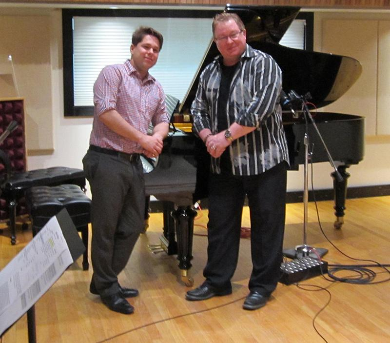Houston Symphony Principal French Horn, William VerMeulen, visits Studio A