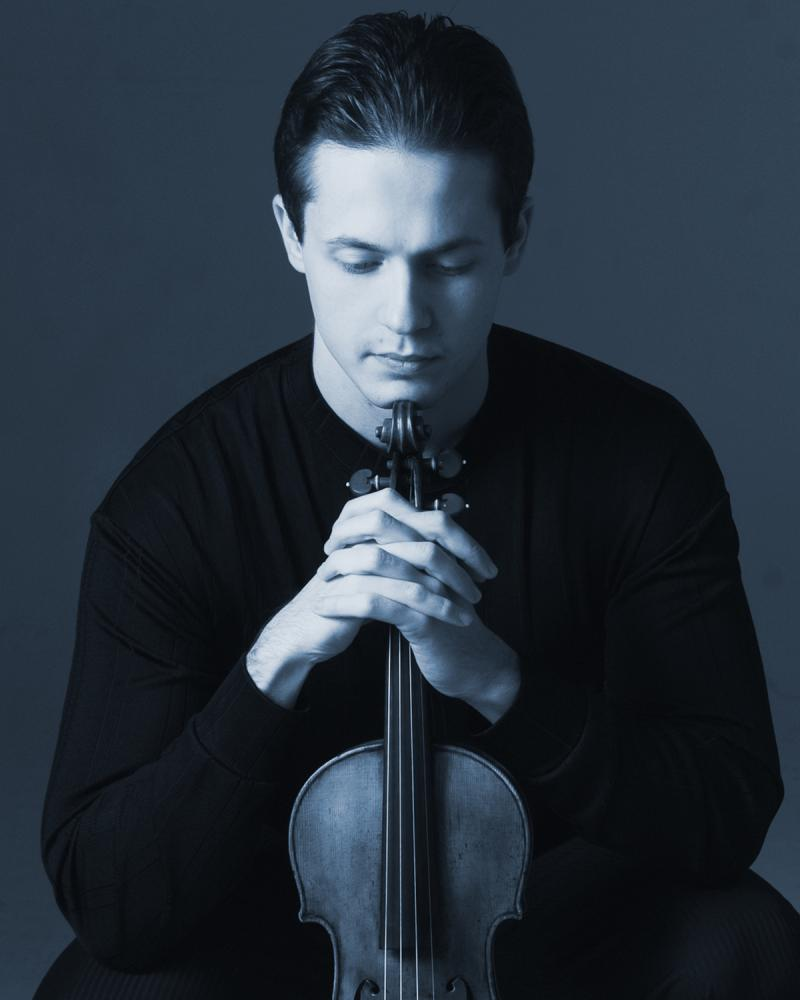 Violinist Stanislav Pronin paid a return visit to IPR's Studio A.