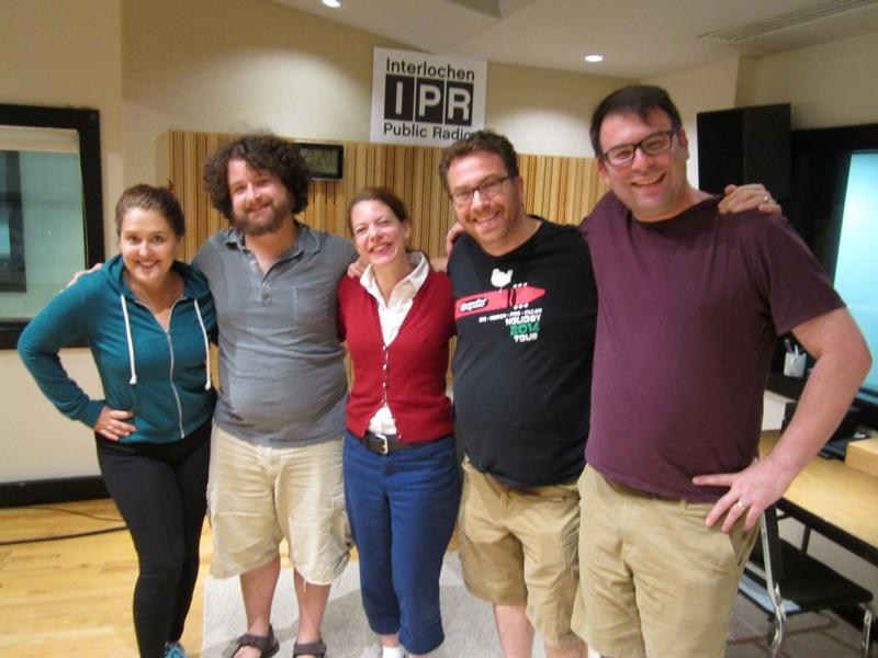 (L-R: Rebecca Vigil, Eric March, Kate Botello, Rob Schiffman, Rob Gordon)