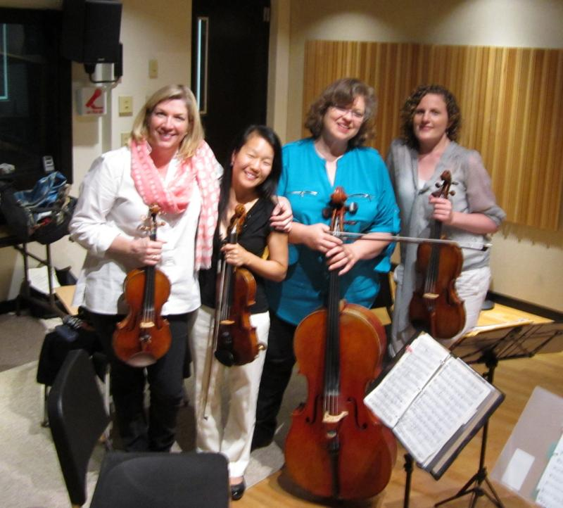 The Cavani Quartet in Studio A