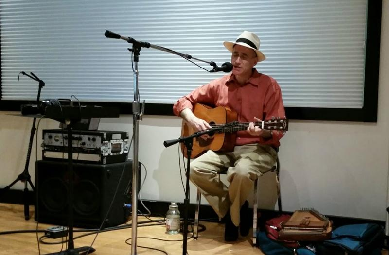 Folk singer Adam Miller plays at the Peninsula Community Library tonight in Traverse City.