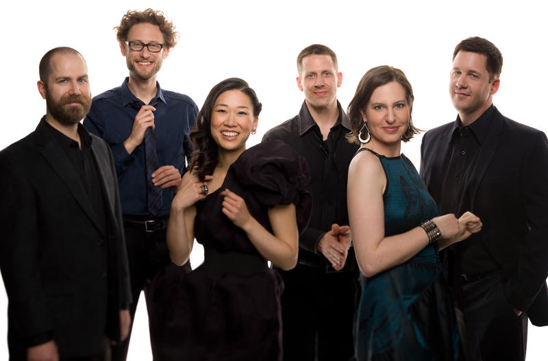 From left to right: Michael J. Maccaferri, Tim Munro, Yvonne Lam, Matthew Duvall, Lisa Kaplan, and Nicholas Photinos
