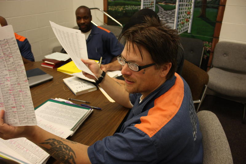 James Fuson describes his poetry cataloguing system at Macomb Correctional Facility.