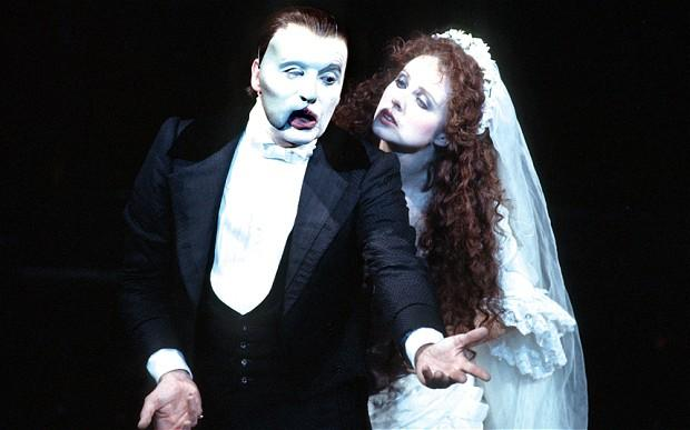 The Phantom of the Opera is there...inside your mind. (Michael Crawford and Sarah Brightman, 1988)