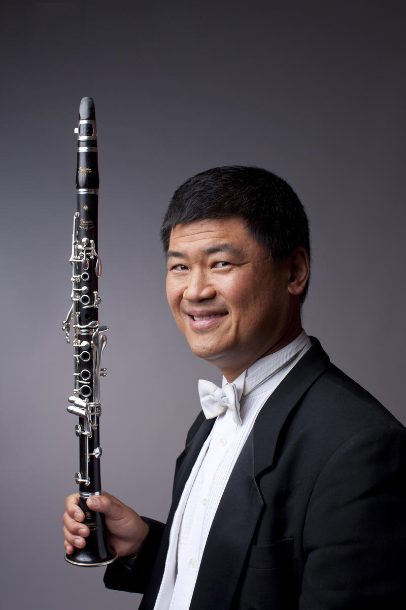 Clarinetist John Bruce Yeh performs at Interlochen Center for the Arts tonight and tomorrow.