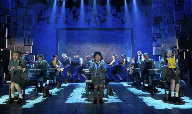 School is stressful - to say the least - in MATILDA: THE MUSICAL