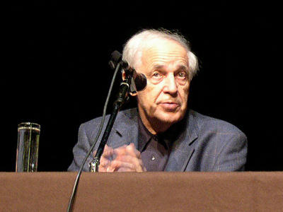 Composer and conductor Pierre Boulez.