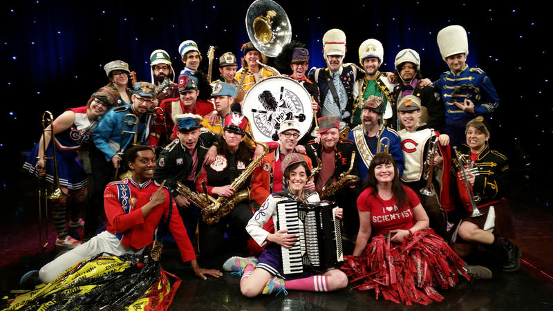 Mucca Pazza brings its show to Interlochen on Saturday.