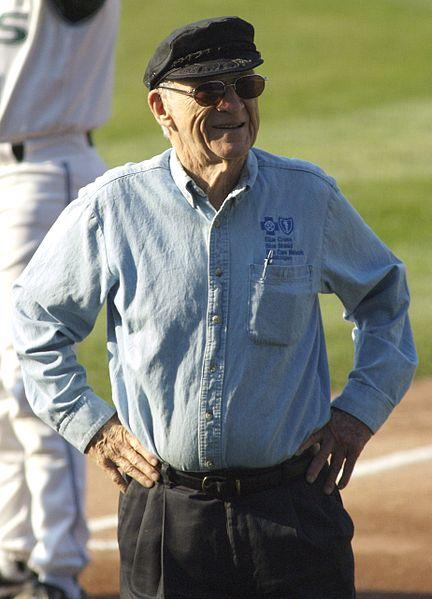 Longtime Detroit Tigers broadcaster Ernie Harwell.