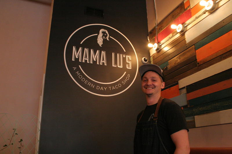 John Larson is the owner of one of Traverse City's newest restaurants, Mama Lu's.