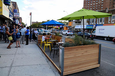 Parking Spaces Would Become Outdoor Cafes Under Dda