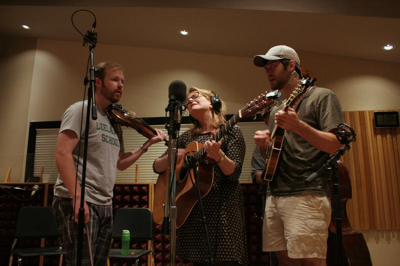 Claire Lynch performs with her band, 'The Claire Lynch Band' in IPR's Studio A