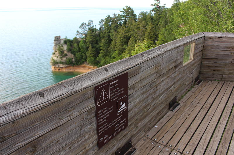 A poem overlooking Pictured Rocks National Lakeshore.