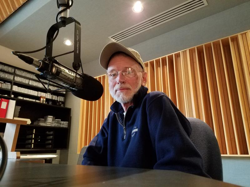 Frank Slaughter has been hosting 'Repose' for nearly three decades. The show features new age, or zone music.