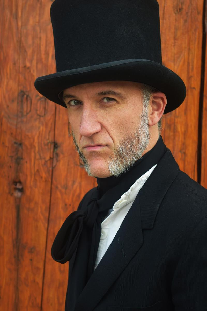 Bill Church plays the role of Ebenezer Scrooge in Parallel 45 Theatre Company's version of 'A Christmas Carol in Prose.'