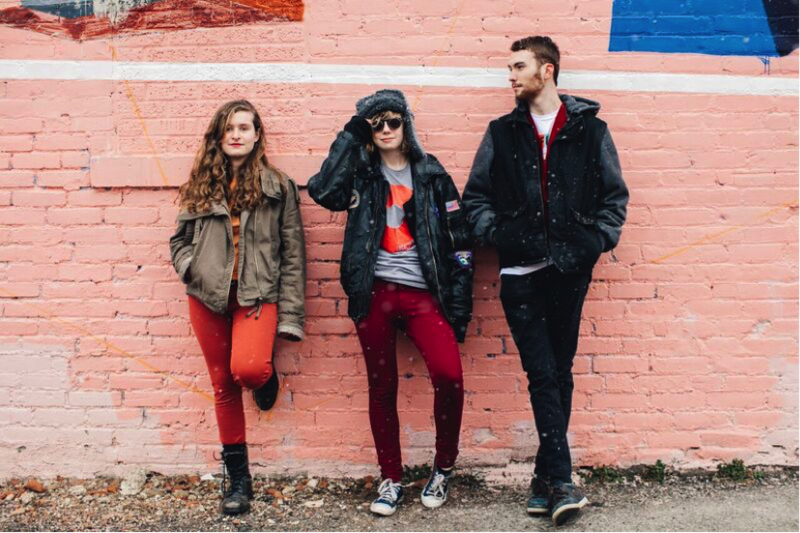 The Accidentals are made up of Katie Larson, Sav Buist, and Michael Dause. The band recently had their trailer stolen while on tour in Arizona.