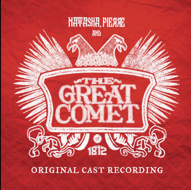 Album cover: NATASHA, PIERRE AND THE GREAT COMET OF 1812