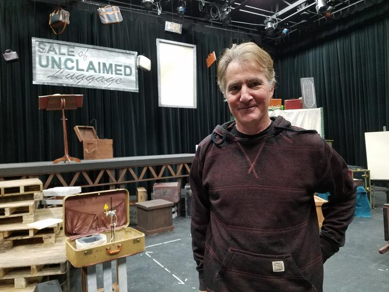 Frank Pahl's automatons play a prominent role in Neruda's Suitcase, a show playing Thursday and Friday at Interlochen Center for the Arts.