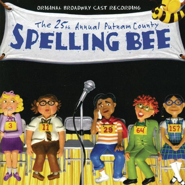 Album cover: THE 25TH ANNUAL PUTNAM COUNTY SPELLING BEE
