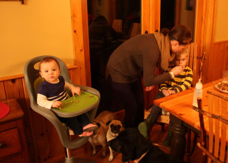 At 7 a.m. every morning, Nicole White gets her children ready to leave. White spends hours in the car every day shuttling between two day care sites and her job in Traverse City.