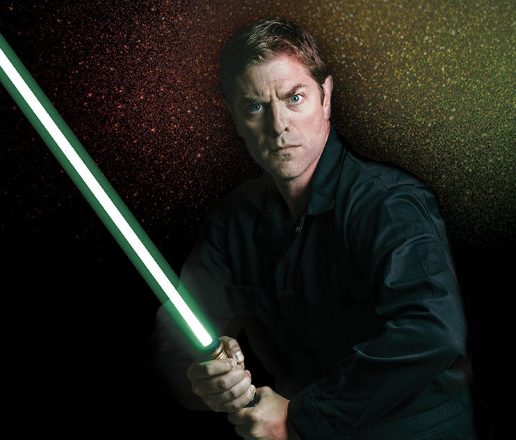 Charles Ross is the creator of the One Man Star Wars Trilogy. He's performed the show thousands of times all over the world. He'll be at the City Opera House in Traverse City, March 10.