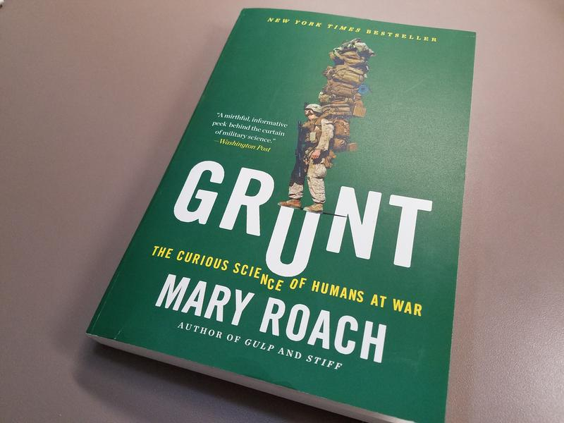 In her most recent book, author Mary Roach talks about the unique ways science and war interacts on a more personalized level.