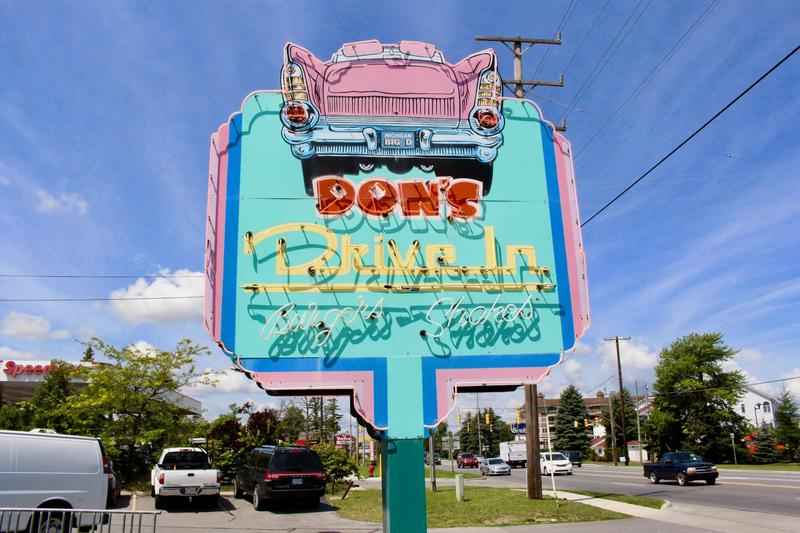 Don's Drive In opened in 1958 in Traverse City.