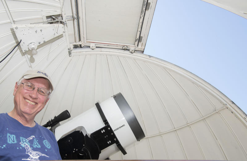 Bob Moler will see his fifth total solar eclipse this Monday.