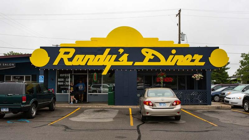Randy's Diner opened in Traverse City in 1997.