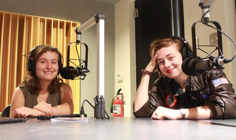 Katie Larson (left) and Sav Buist of The Accidentals stopped by IPR to chat about the band's new album.