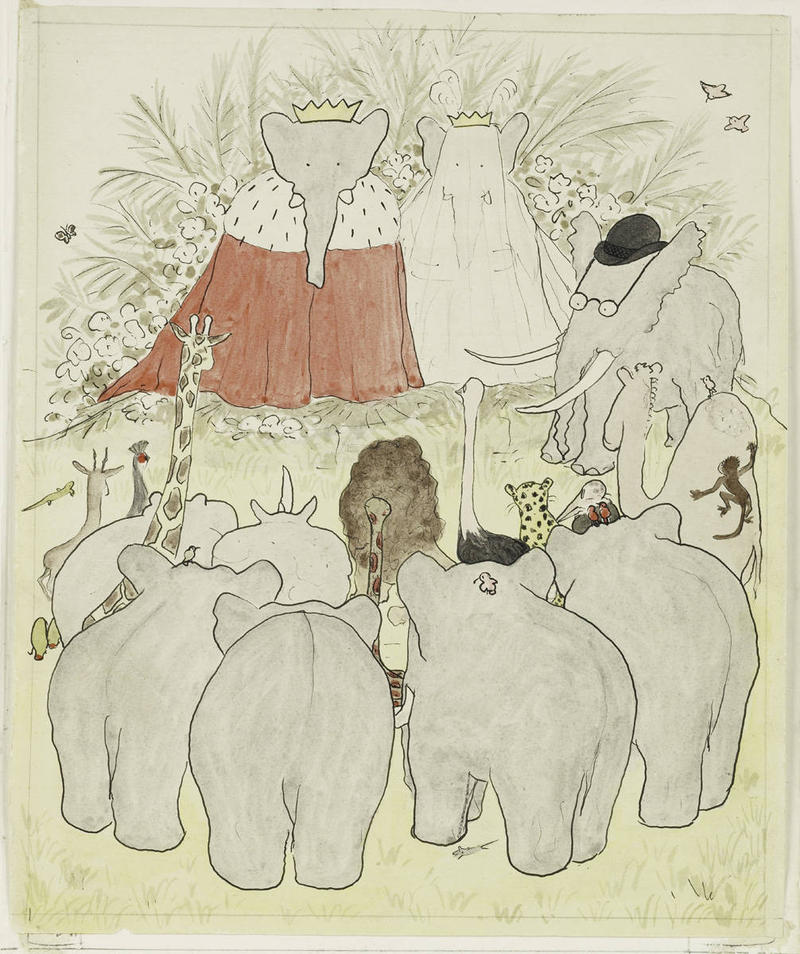 Kids Commute Episode 19: Elephant Week! The Coronation of Babar, by Francis Poulenc. Interlochen Public Radio - Classical Music for Kids!