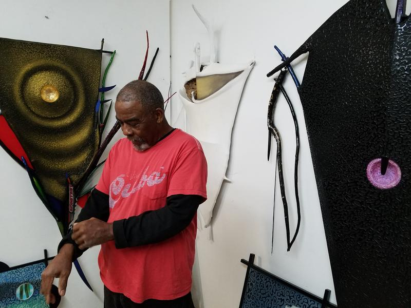 Rufus Snoddy says being apart of Art Miami is one of the biggest opportunities in his career.