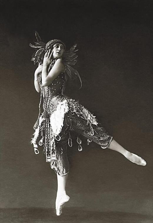 Tamara Karsavina as The Firebird, 1910. Interlochen Public Radio - classical music for kids!