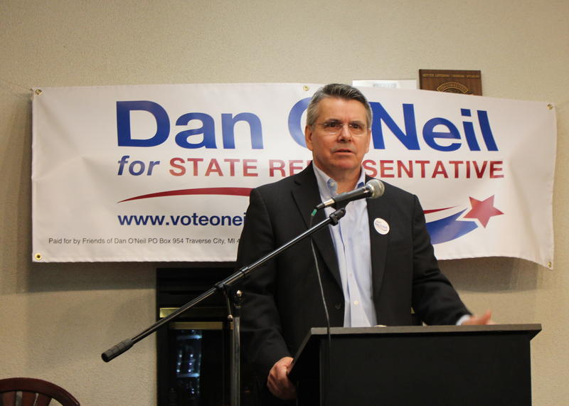 Dan O'Neil announced his candidacy for Michigan's 104th District on February 15, 2018.